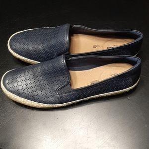 Clarks Danelly Molly Leather Loafers Size 12